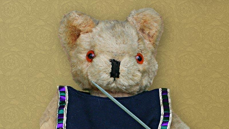 Teddybär Admiral Hugo