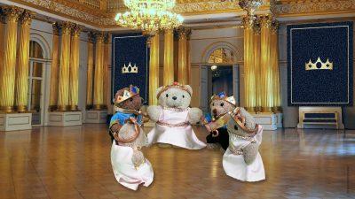 Großes Gala-Fest im Königshaus Bäranien