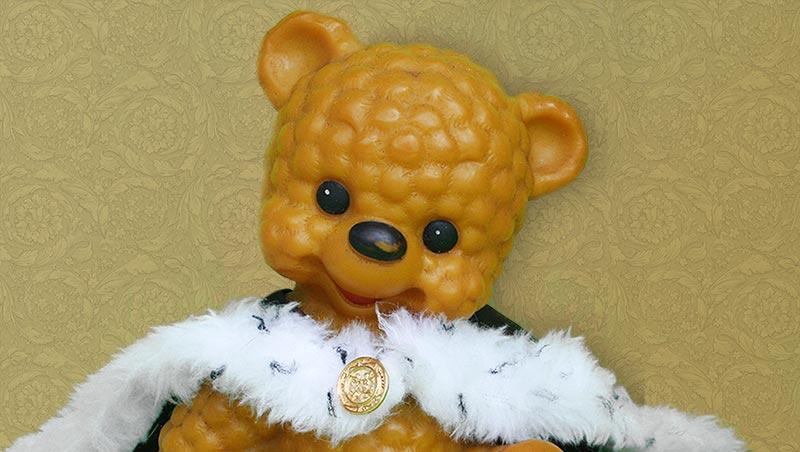 Teddybär König A.D. Uropa