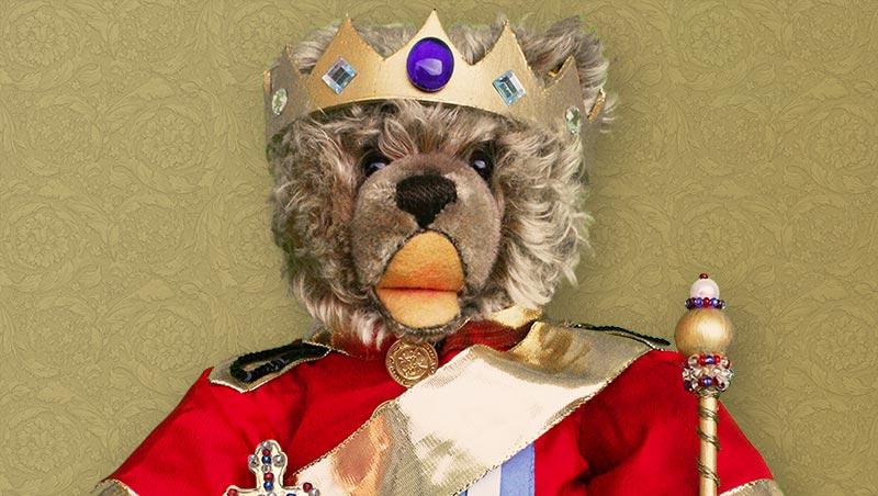 Teddybär König Opa I.