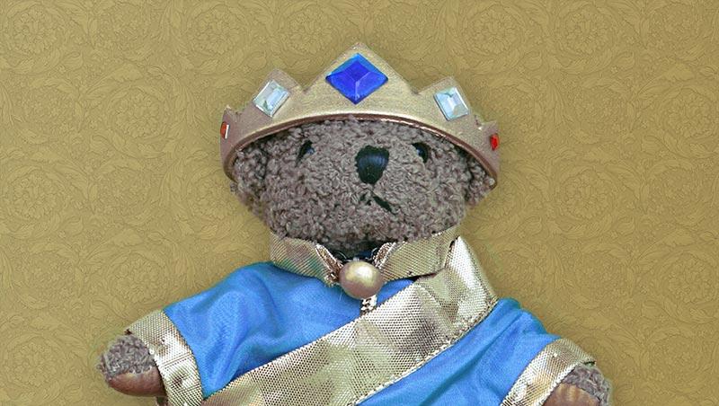 Teddybär Kronprinz Dicky