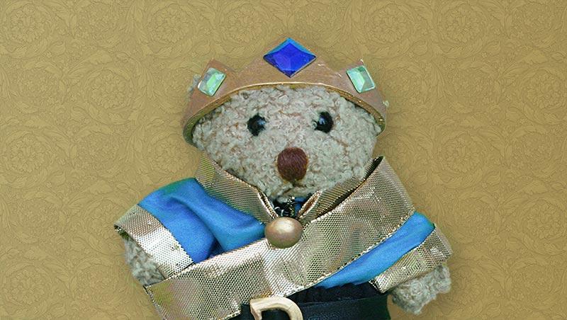 Teddybär Prinz Paulchen