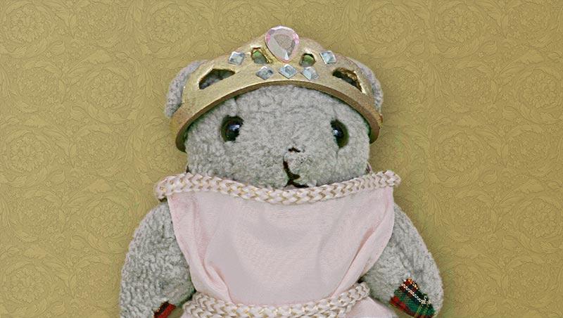 Teddybär Prinzessin Karo