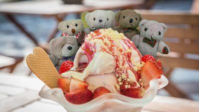 Eisgenuss in den Ferien von Bäranien