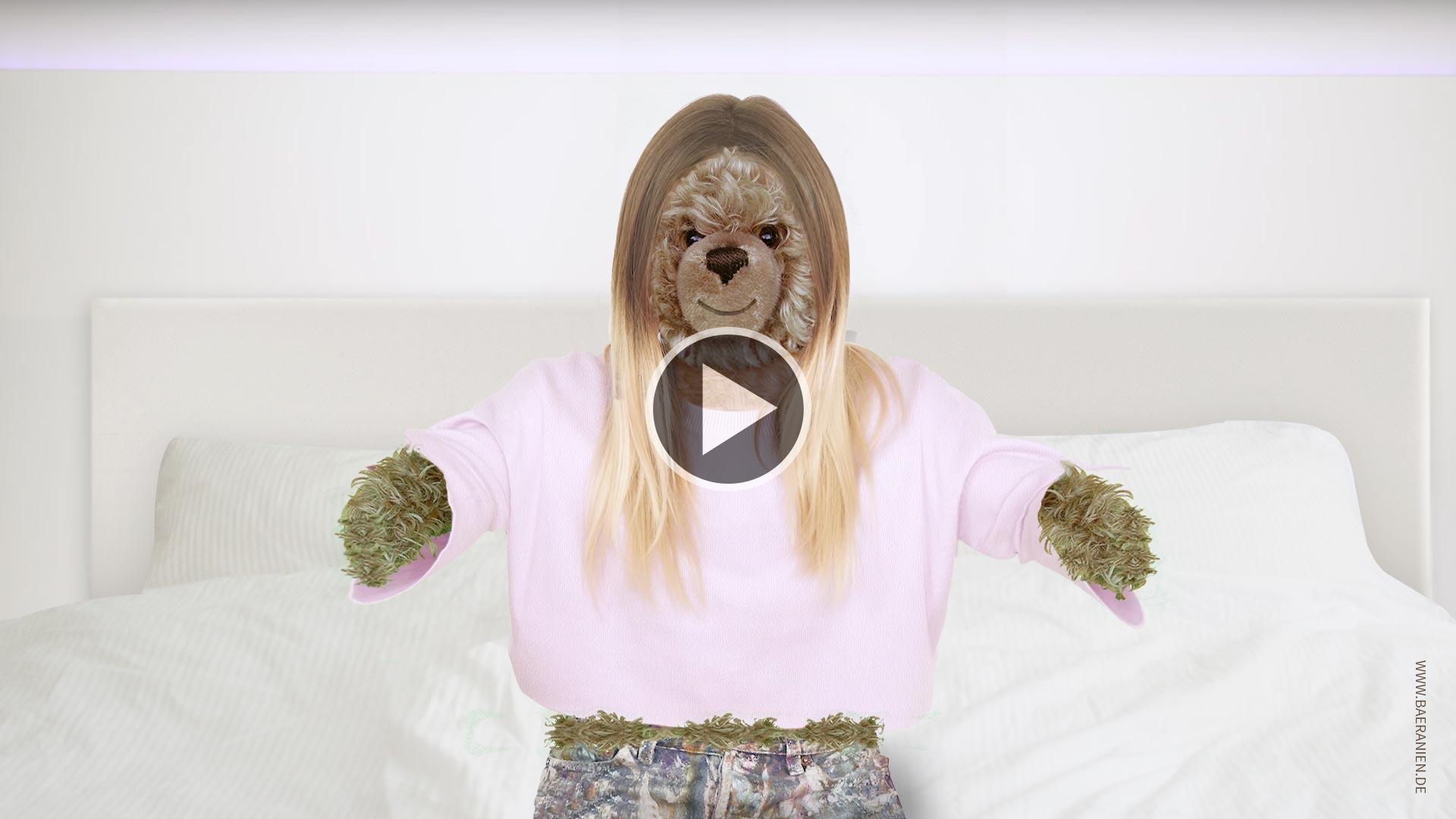 Teddybär-König Opa als Bibi
