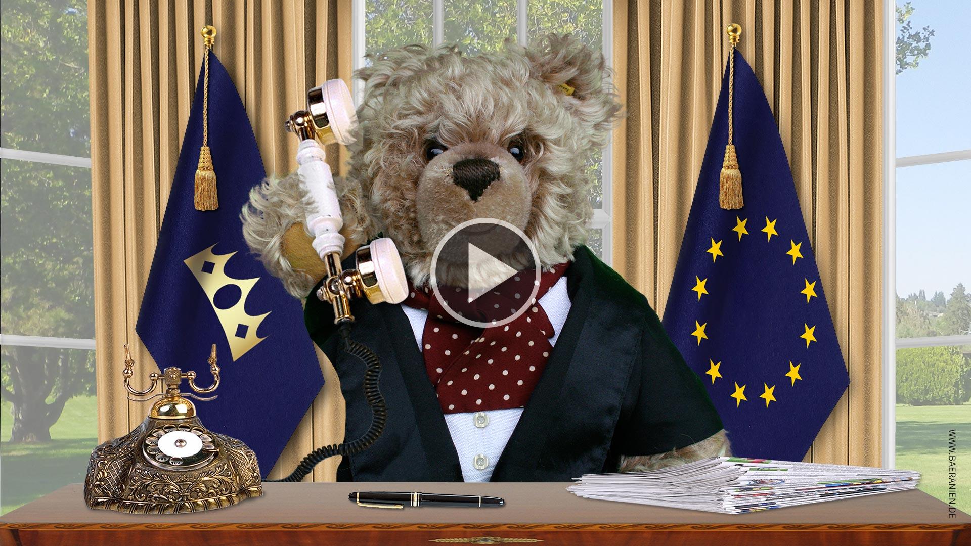 König Opa und das Telefonat mit Donald