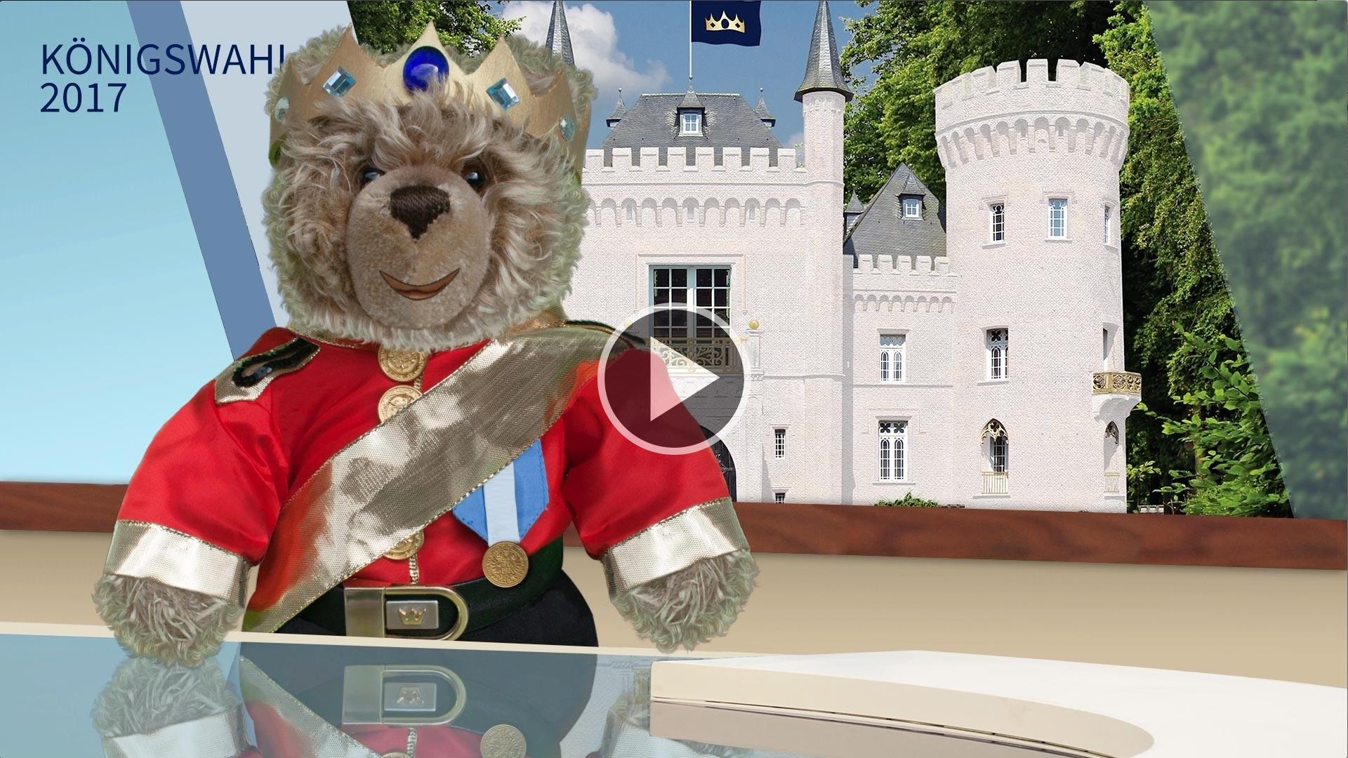 Teddybär-König Opa zur Wahl 2017