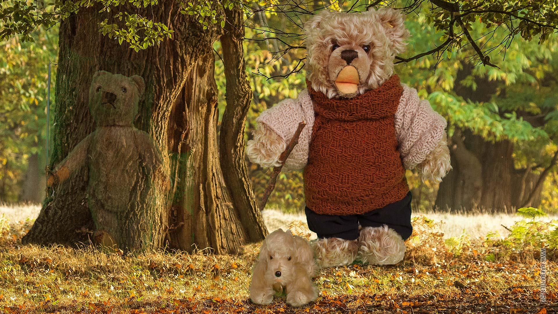 König Opa I. und der Herbstspaziergang mit Hundy