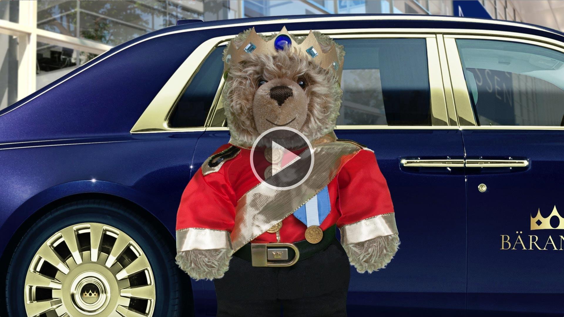 König Opa I. auf der Euro-Teddy in Essen