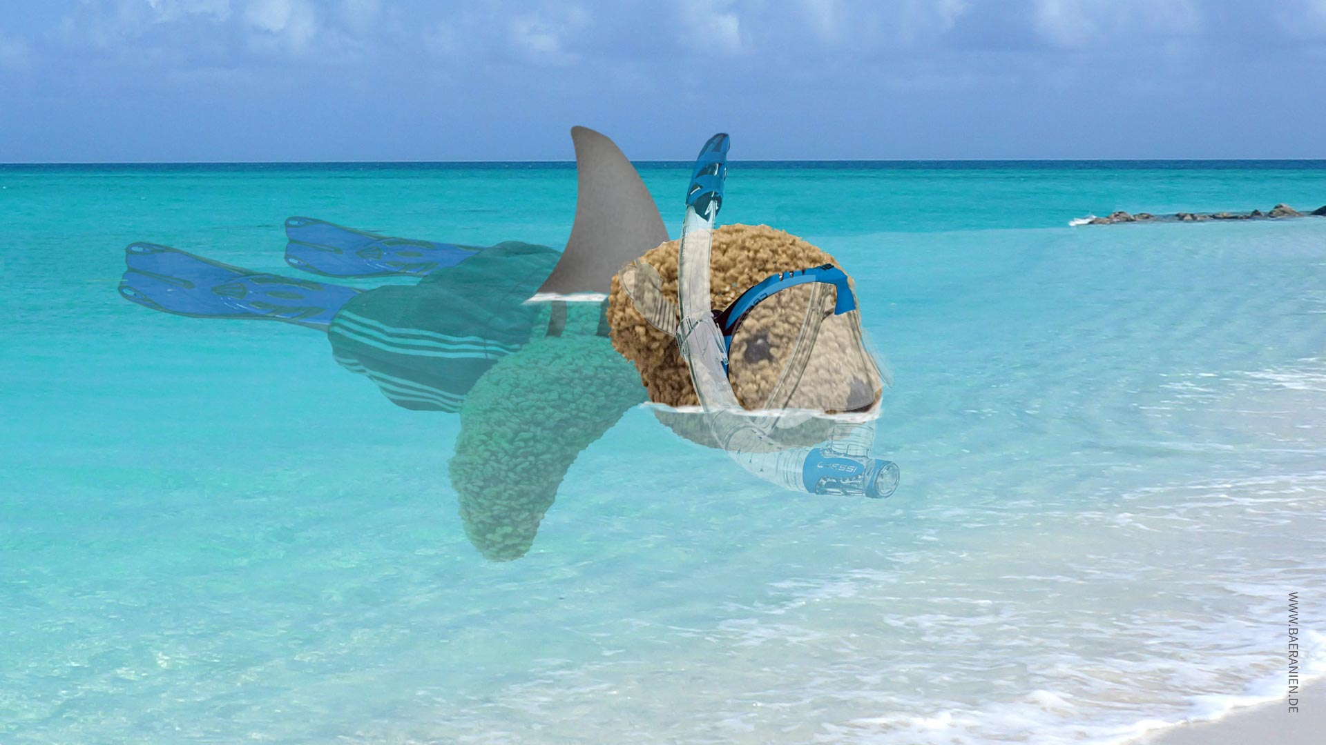 Hai-Alarm in Varadero auf Kuba