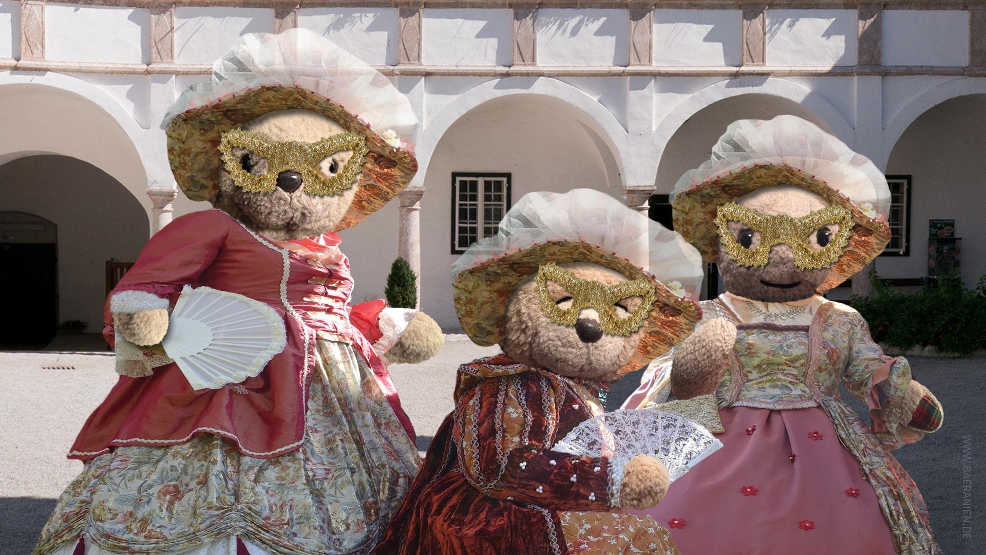 Karnevalstrubel in Bäranien