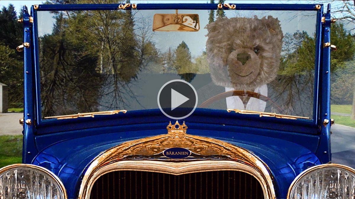 Teddybär König Opa und der Blitzer