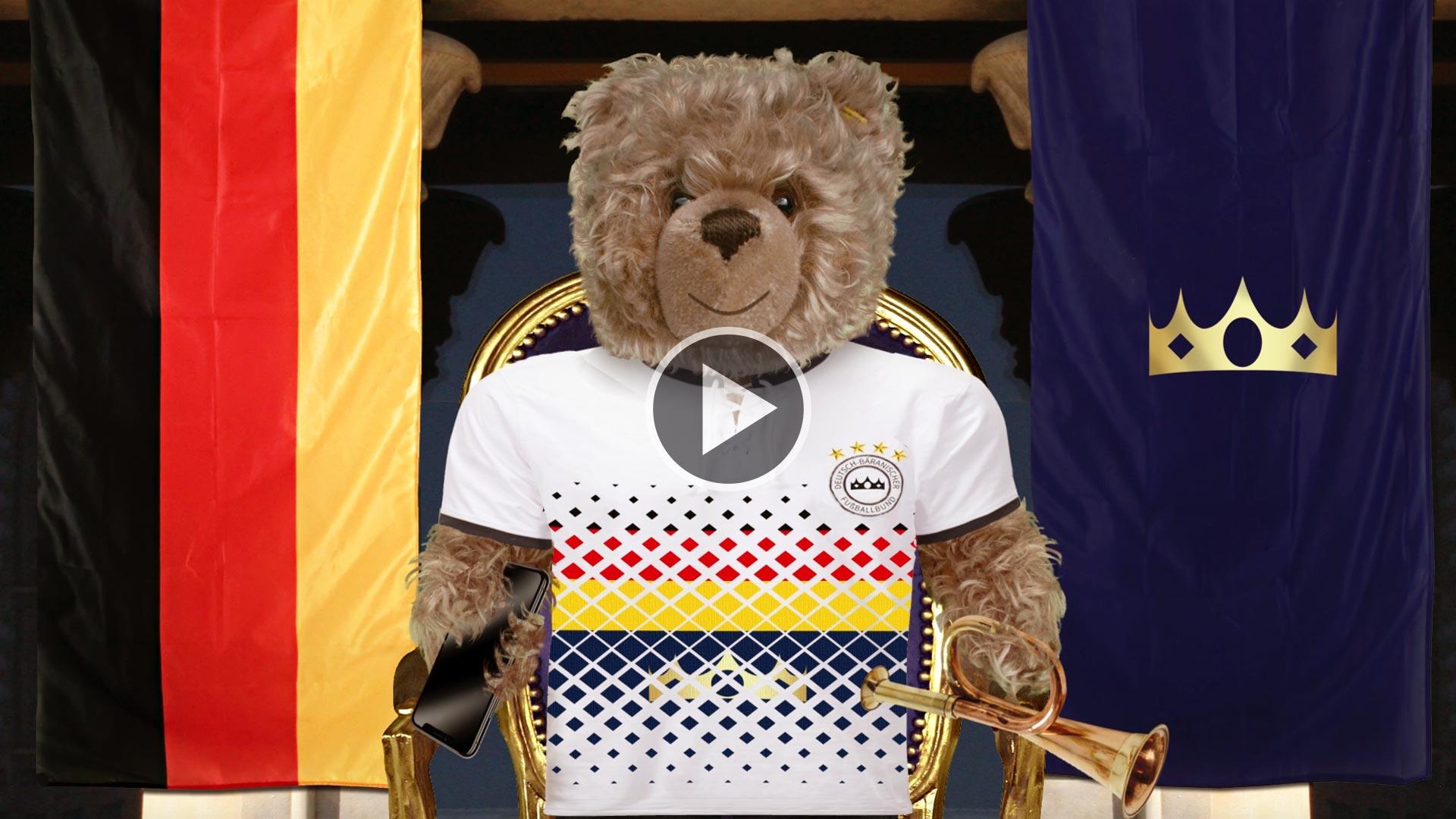 Teddybär-König Opa und die Fußball-WM 2018