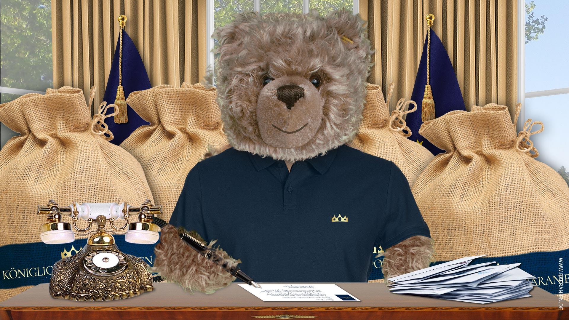Teddybär-König Opa beantwortet Bärtallica Fanpost