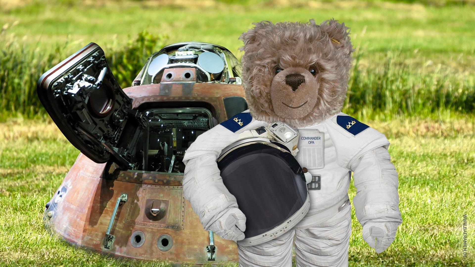 Teddy-König Opa beendet Mondmission