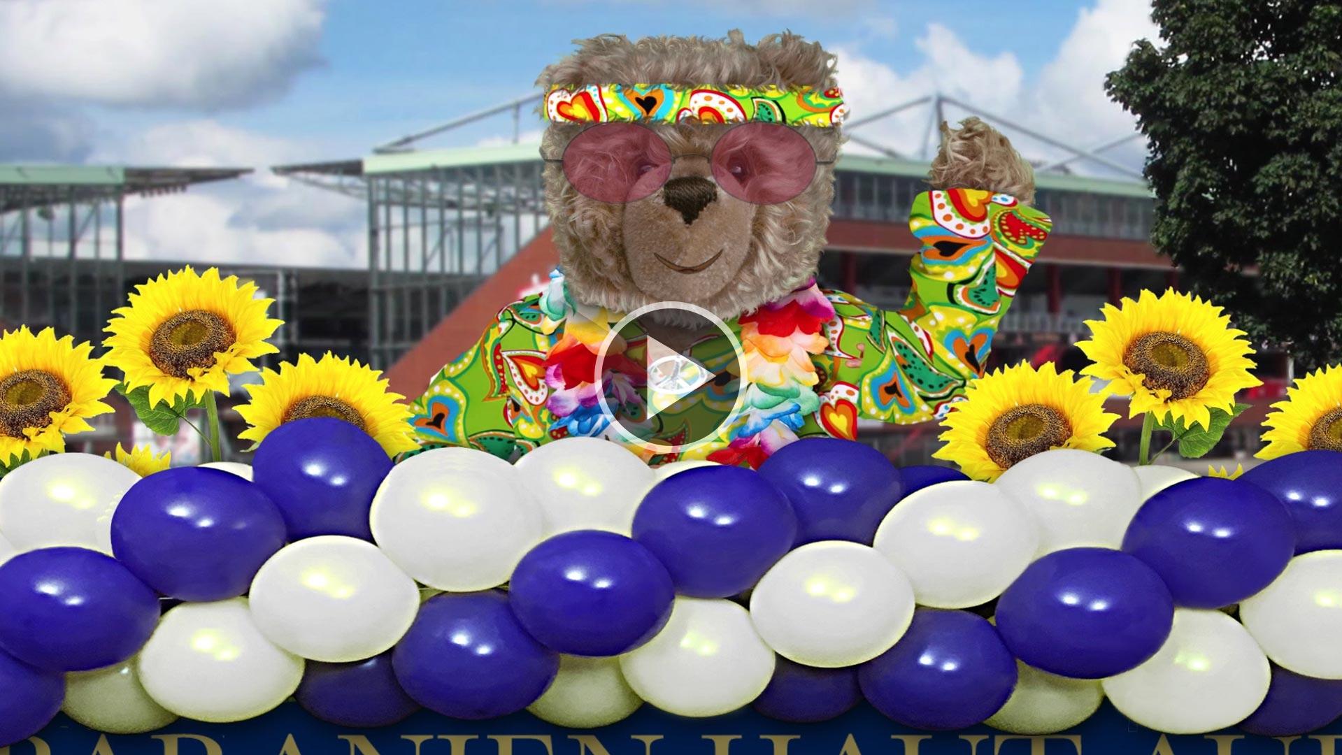 Teddy-König Opa beim Schlagermove
