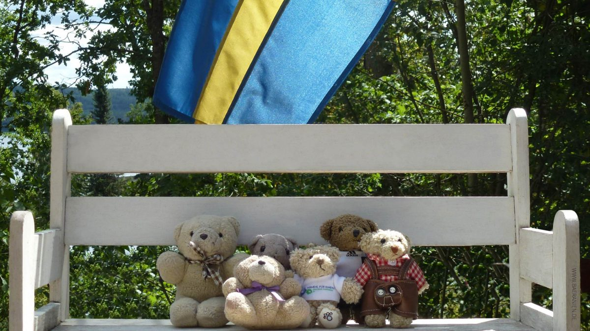 Königsfamilie im Sommerurlaub in Schweden