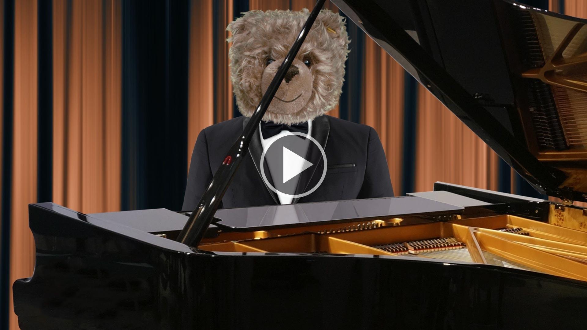 Teddy-König Opa und das Elbphilharmonie-Konzert
