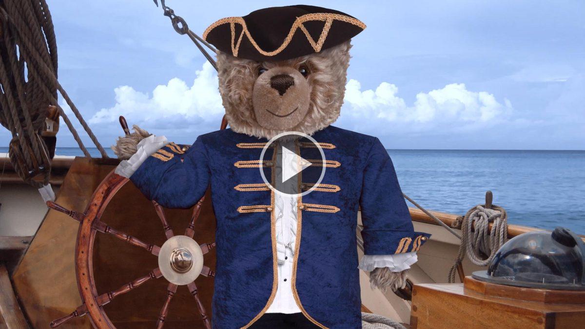 Teddy-König Opa auf den Spuren von James Cook