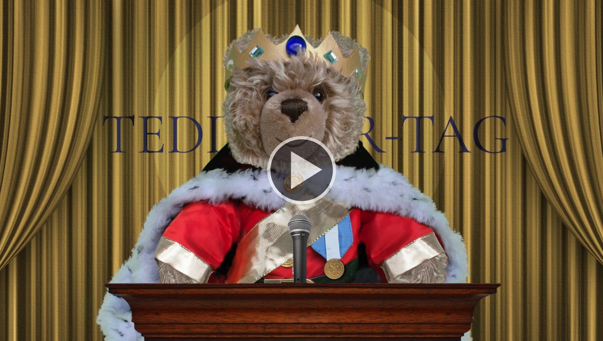 Teddy-König Opa I. und der Teddybär-Tag