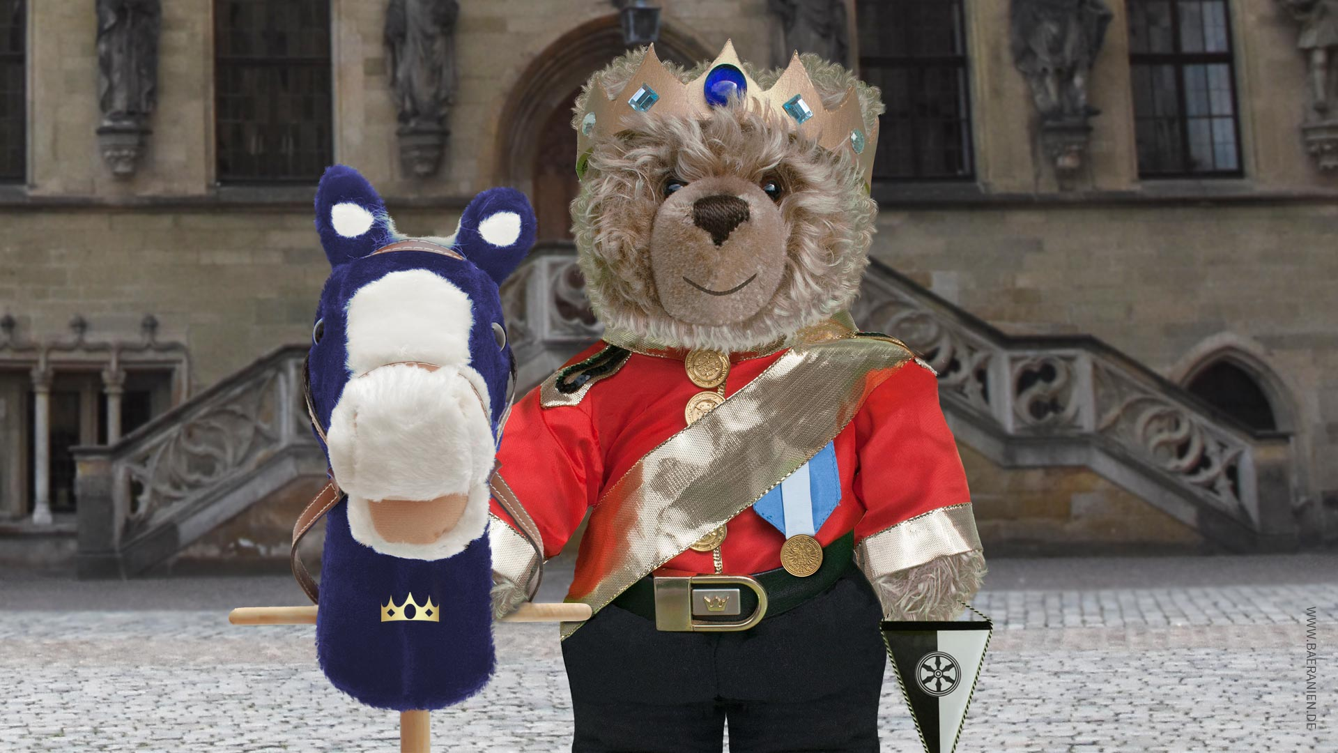 Teddy-König-Opa und der Westfälische Frieden