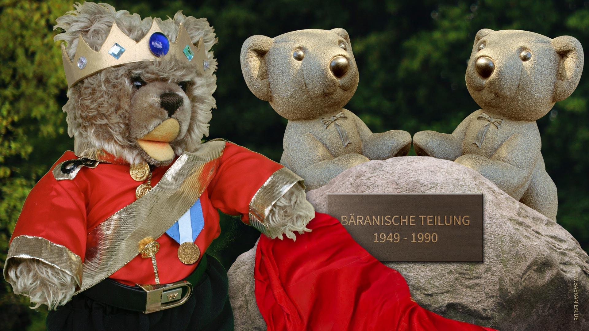 Teddy-König Opa und die Wiedervereinigung