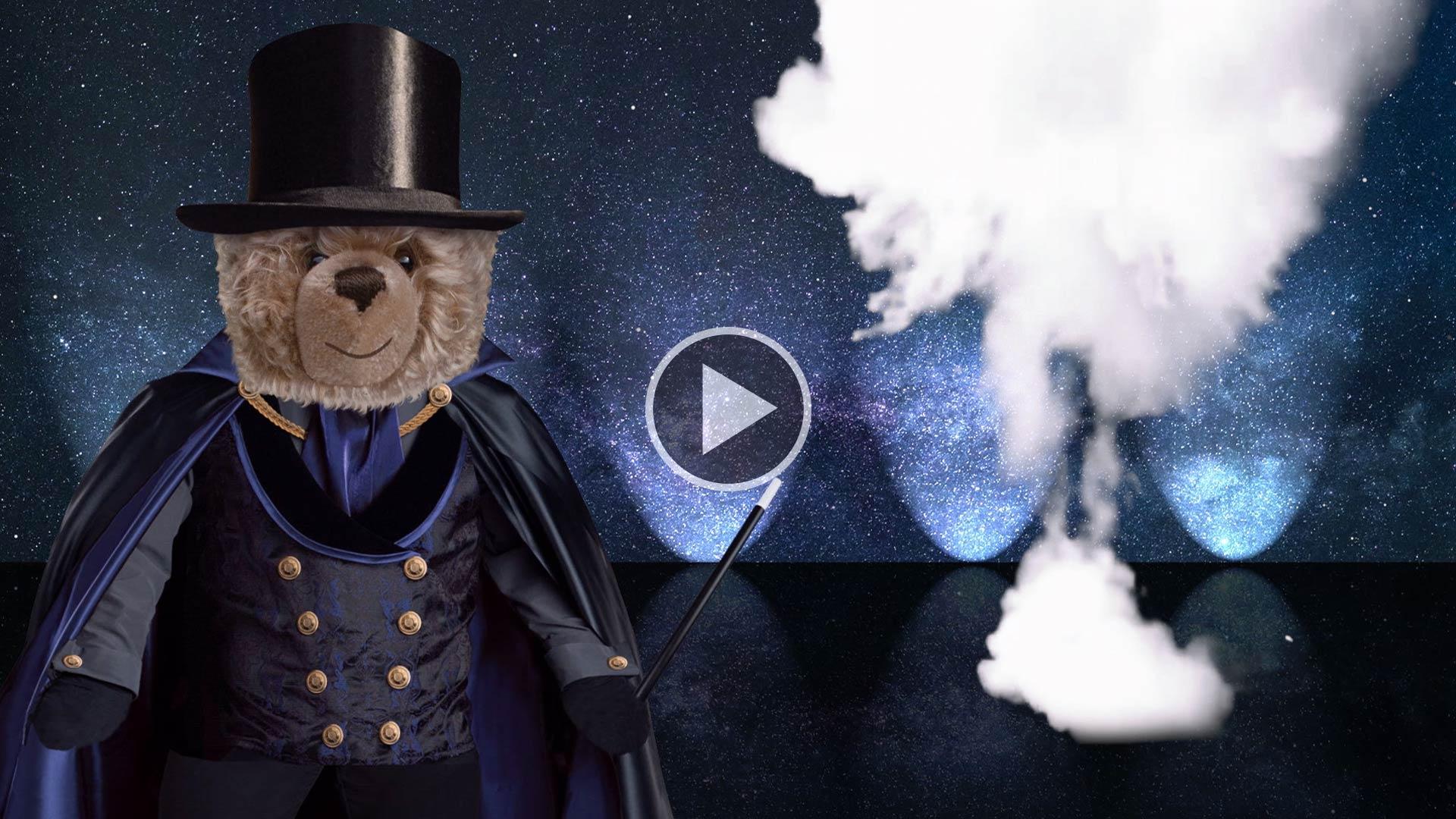 Teddy-König Opa und die Zaubershow
