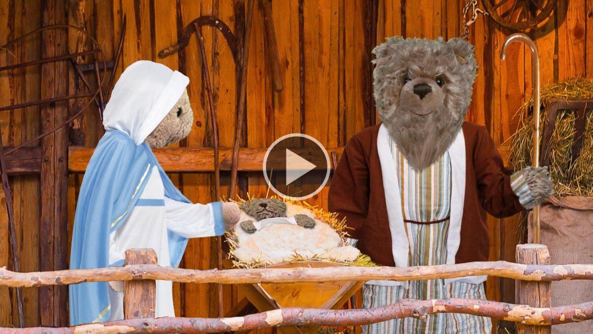 Teddy-König Opa und das Krippenspiel